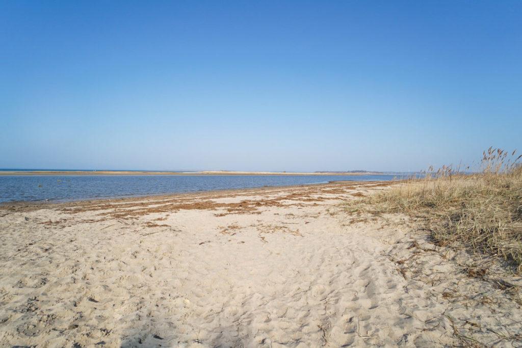 Strand Gollwitz und Insel Langenwerder