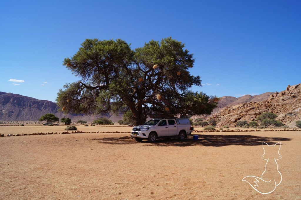 Namibia Sehenswürdigkeiten Dachzelt Camper Roadtrip