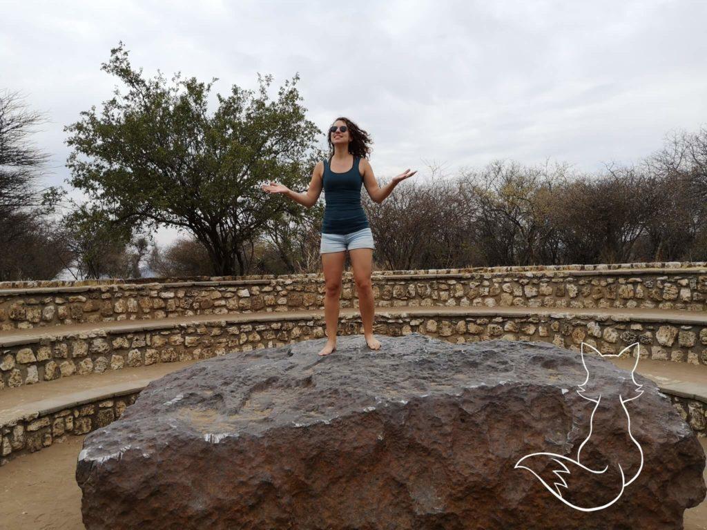 Namibia Sehenswürdigkeit Hoba Meteorit