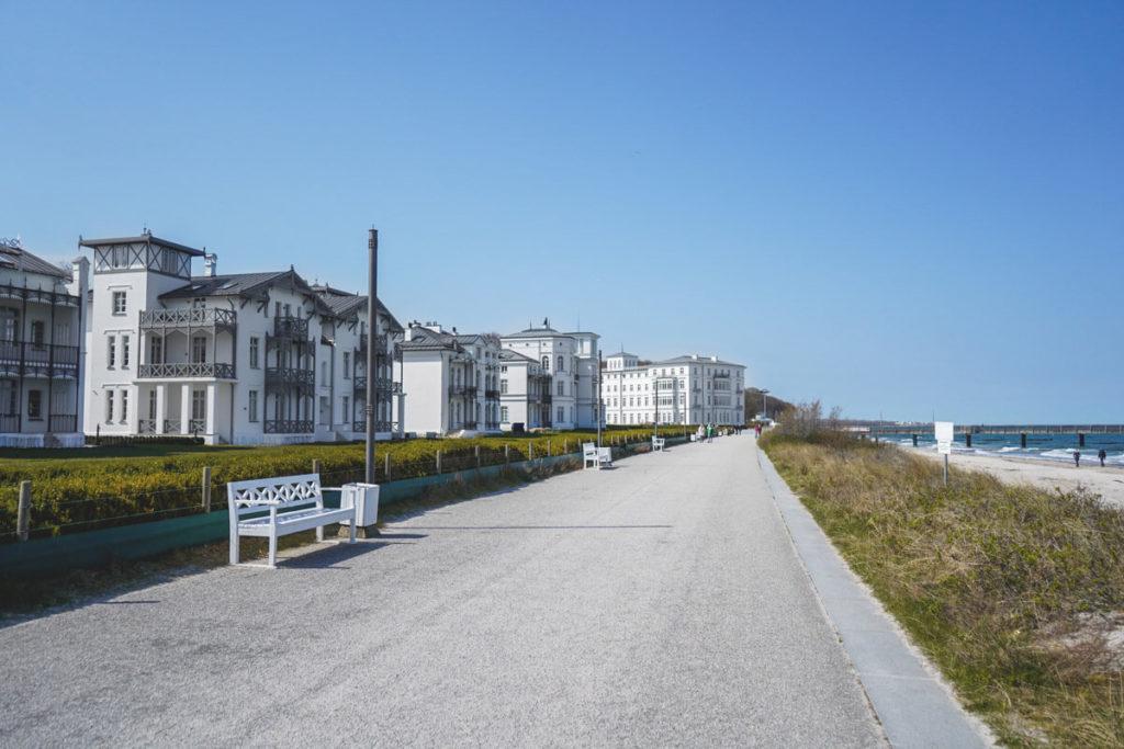 Ostseebad Heiligendamm Promenade Villen