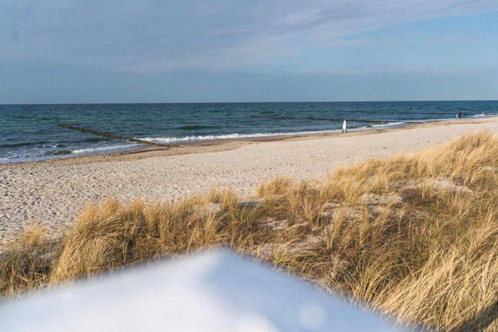 Ostseebad Kühlungsborn Ostseeküstenradweg Strand Meer