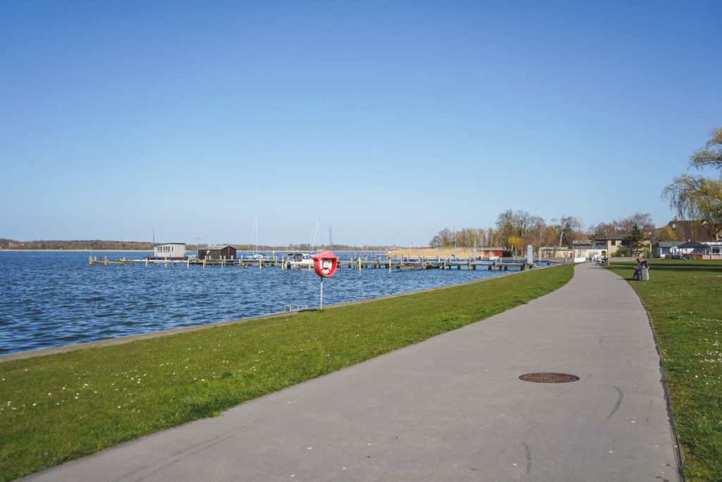 Ribnitz-Damgarten-Bodden-See-Hafen-Steg