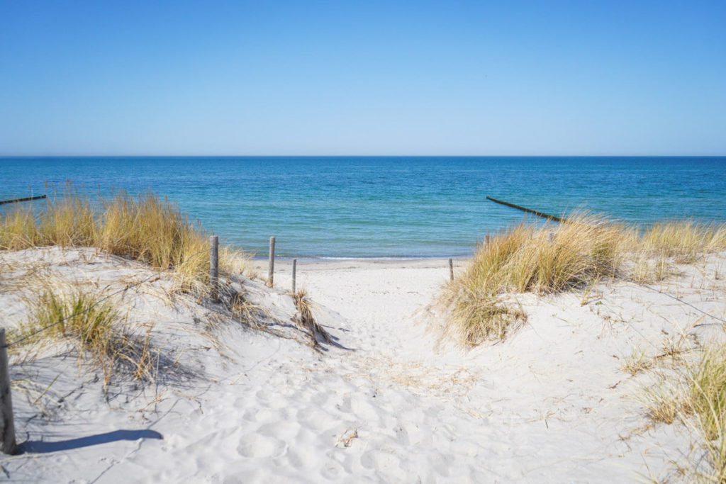 Strand-Dierhagen-Ostsee-Duenen
