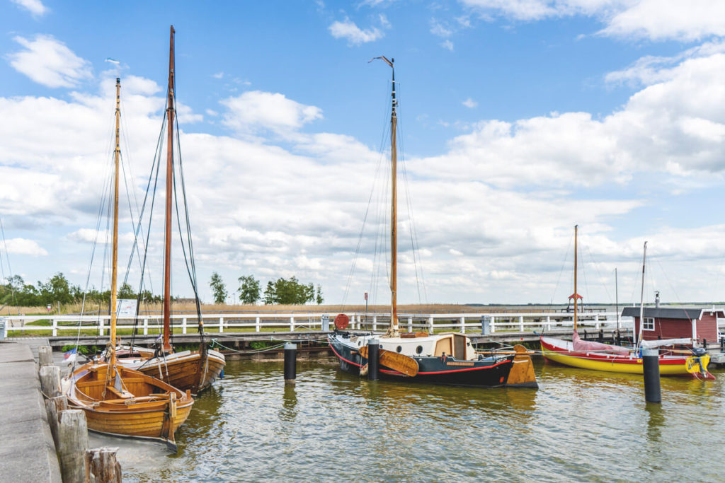 Fischland-Darss-Zingst-Fahrradtour-Hafen-Wiek