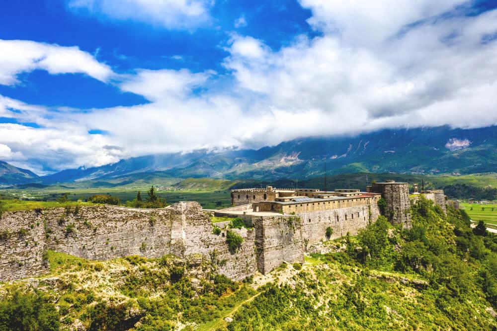 Gjirokastra-Albanien-Burg-Festung