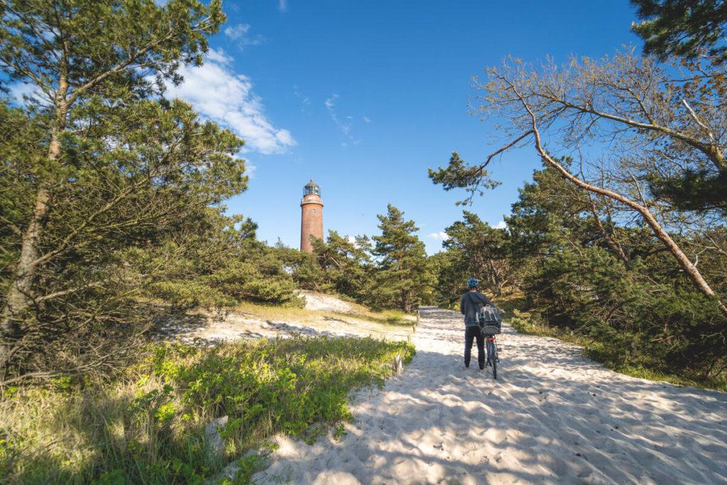Weststrand-Leuchtturm-Fischland-Darss