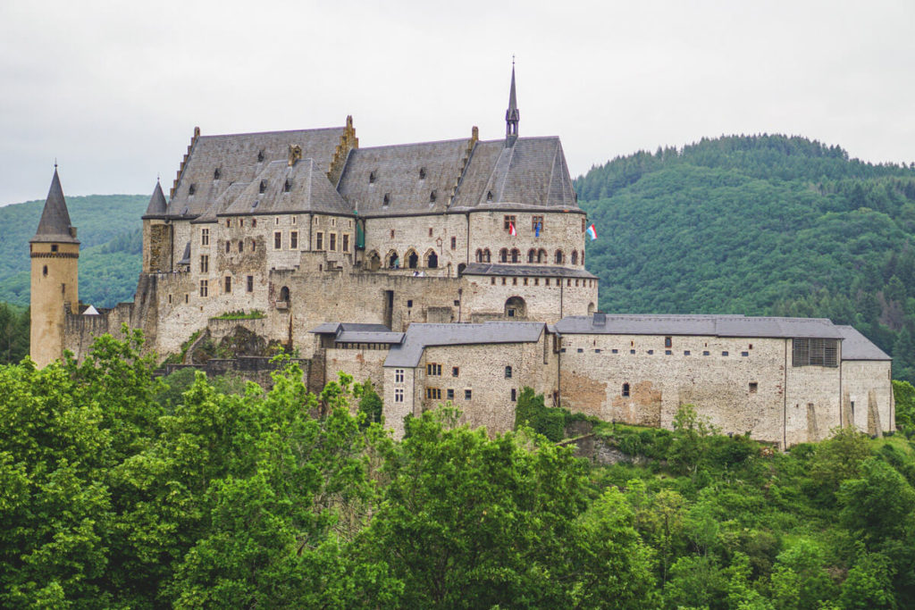 Luxemburg-Rundreise-Schloss-Vianden