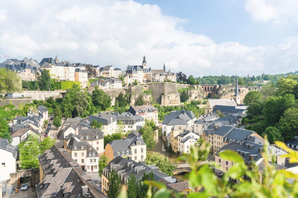 Rundreise-Luxemburg-Stadt-Aussicht