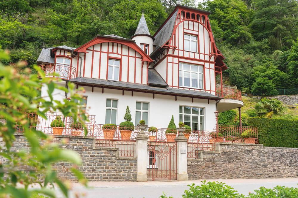 Vianden-Luxemburg-Haus