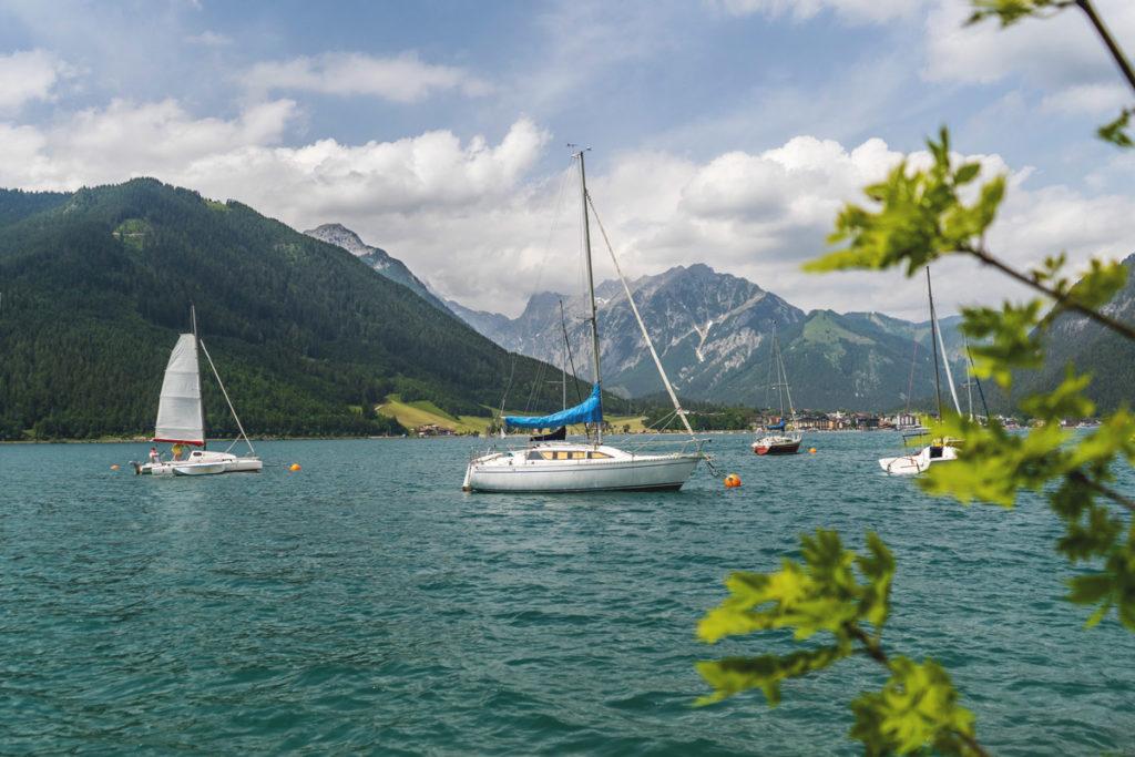 Achensee-Tirol-Oesterreich-Boote