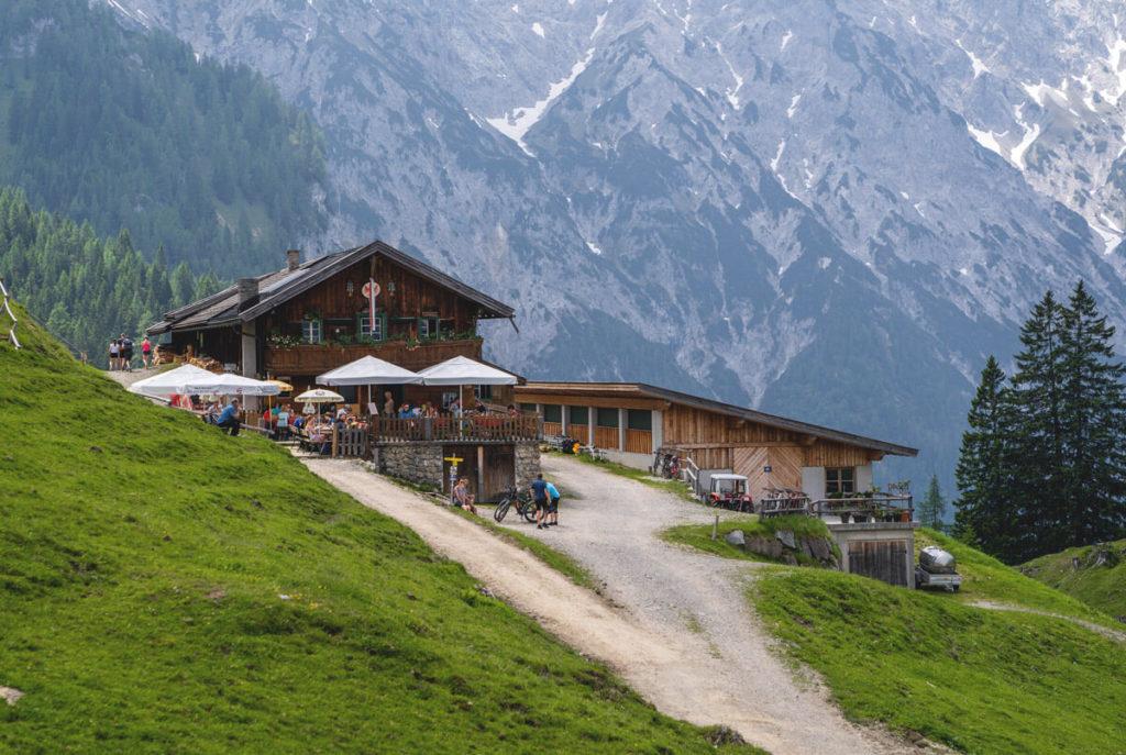 Baerenbadalm-Achensee-Tirol