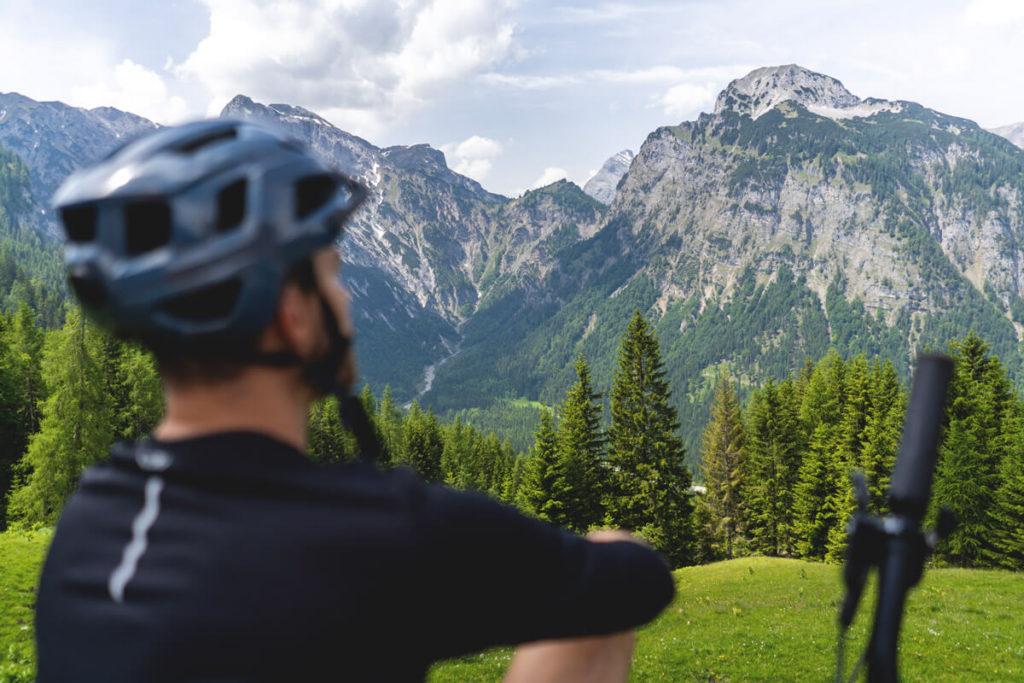 Mountainbike-Radtour-Achensee-Tirol