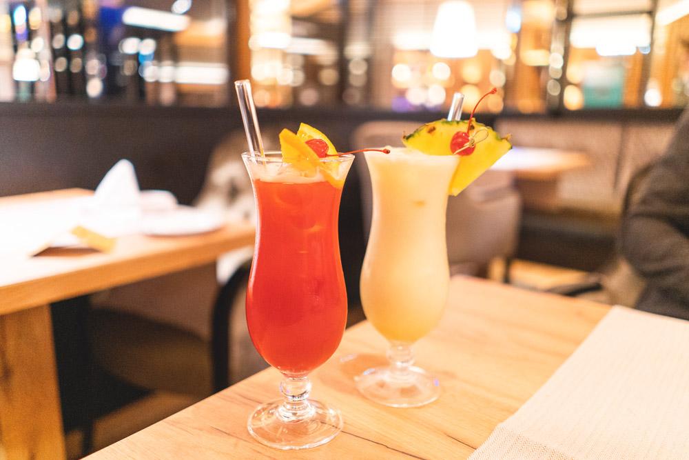Drinks in der OZ Hotekbar