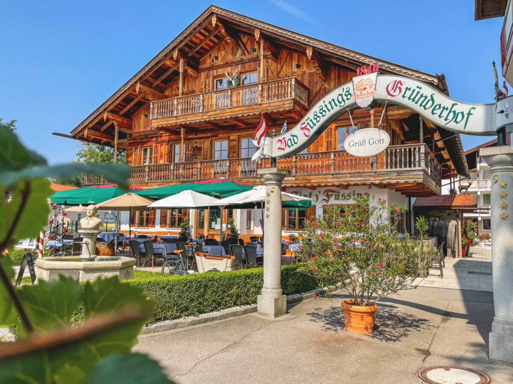 À-la-carte-Restaurant Wirt z'Füssing