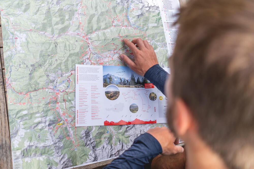 Stoneman-Taurista-Karte-Vorbereitung
