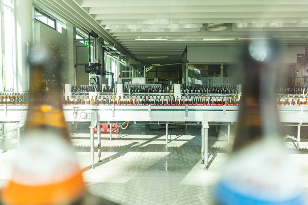 Brauerei-Rothaus-Bier-Abfuellanlage