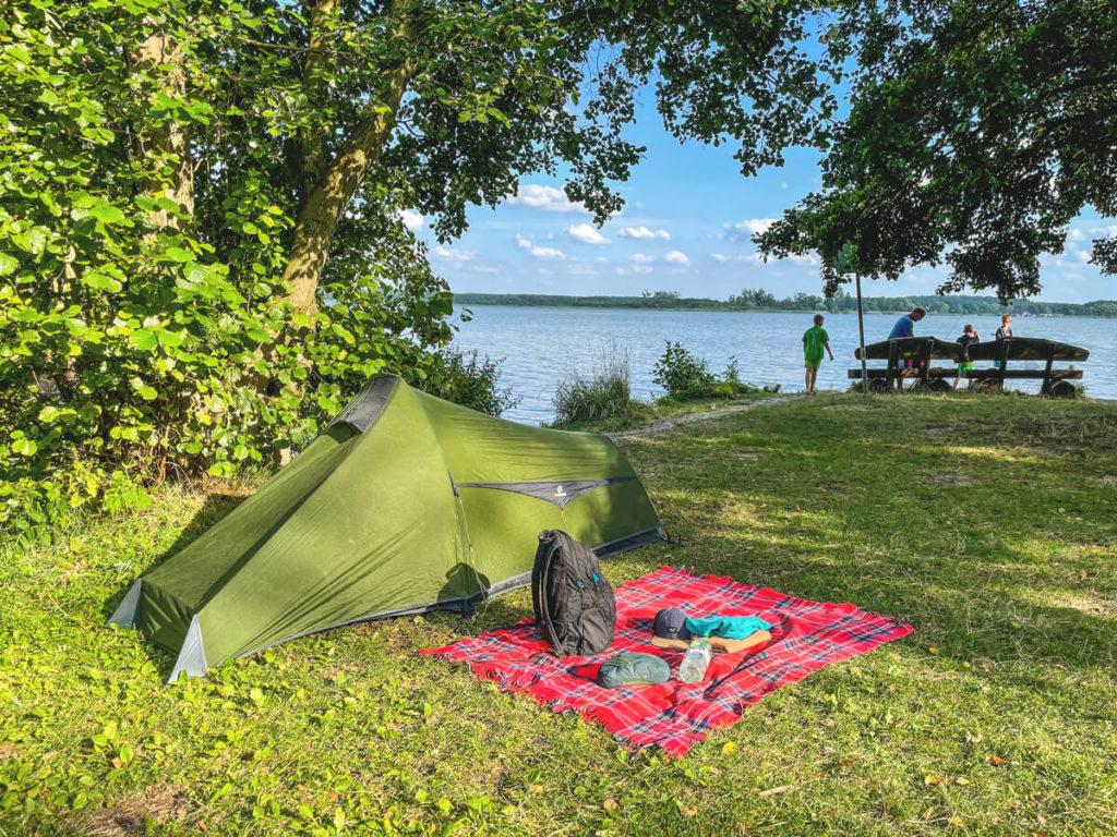 Campingplatz-Havelberge-Zeltwiese-Wasserwanderer