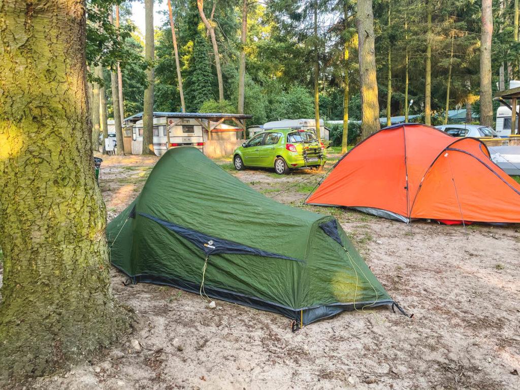 Kanutour-Seenplatte-Naturcampingplatz-Zotzensee-Zeltwiese