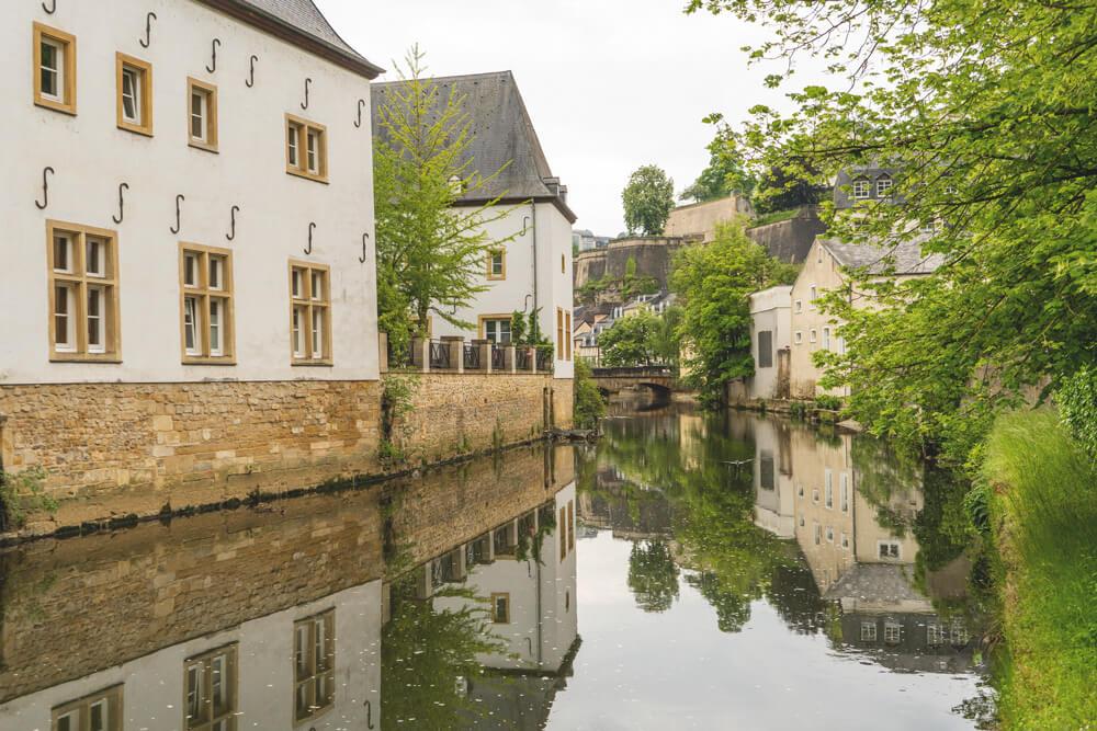 Luxemburg Sehenswürdigkeiten Unterstadt Grund