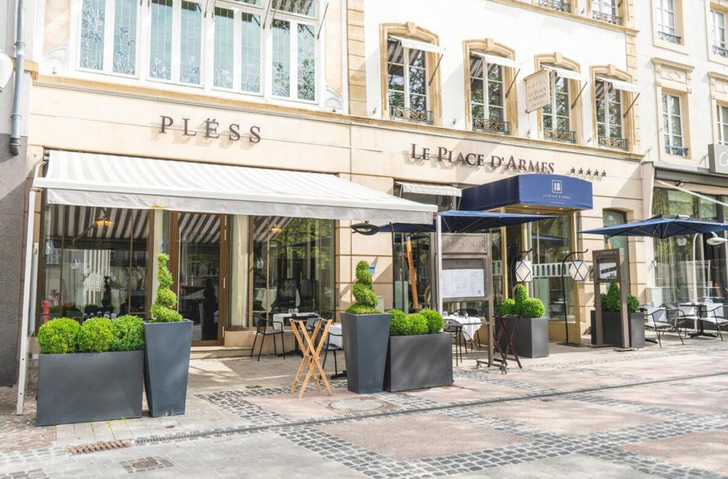 Luxemburg-Stadt-Altstadt-Place-d-Armes
