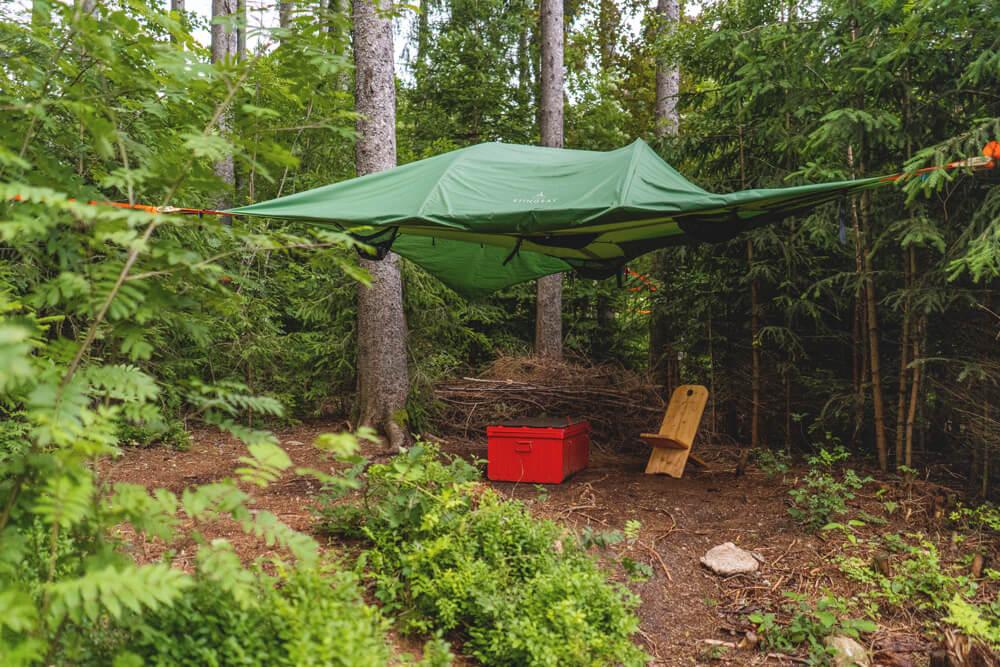 Schwarzwald Camp Baumzelt Südschwarzwald