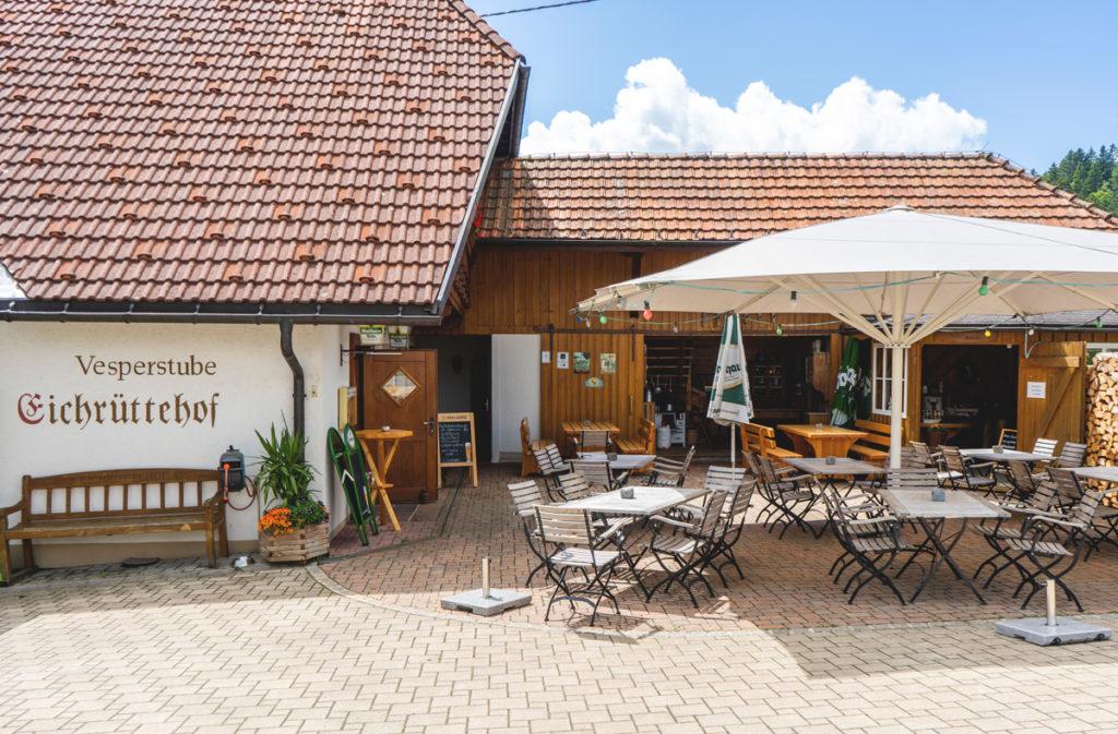 Vesperstube-Eichruettehof-Schwarzwald-Bauernhof