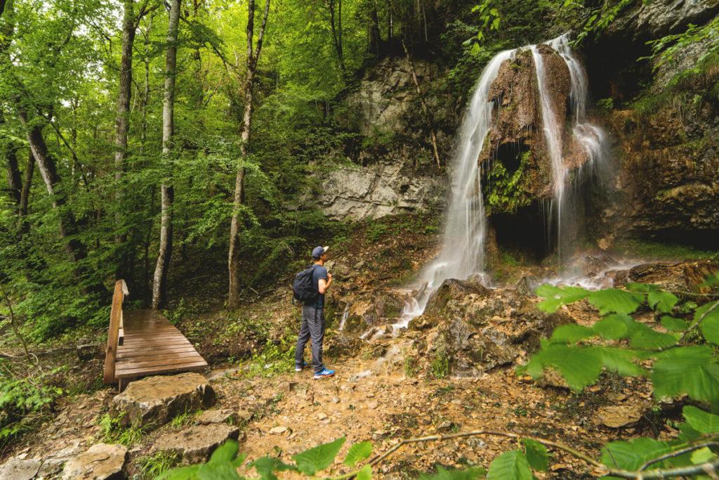 Wasserfall-Wutachschlucht-Schwarzwald