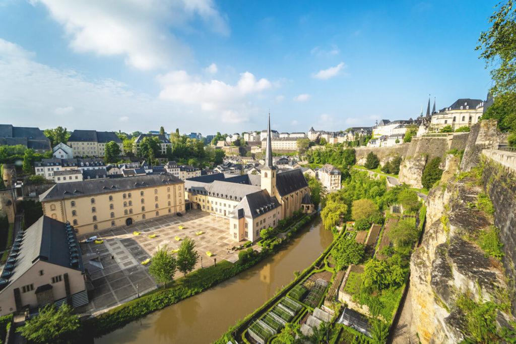 Luxemburg Sehenswürdigkeiten Abtei Neumünster