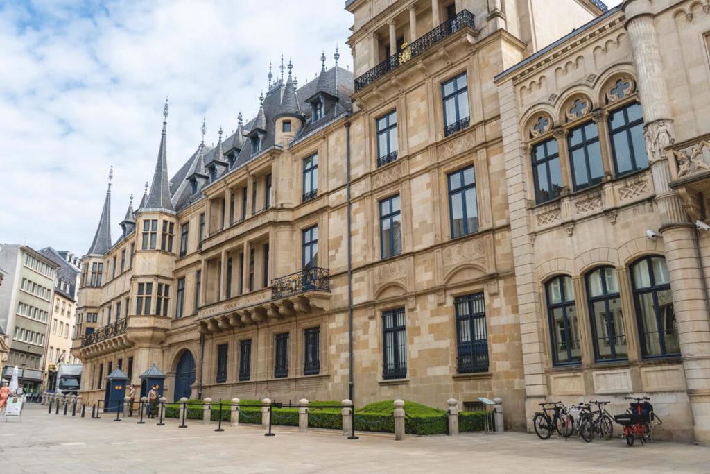 Luxemburg Sehenswürdigkeiten Großherzogliche Palast Altstadt