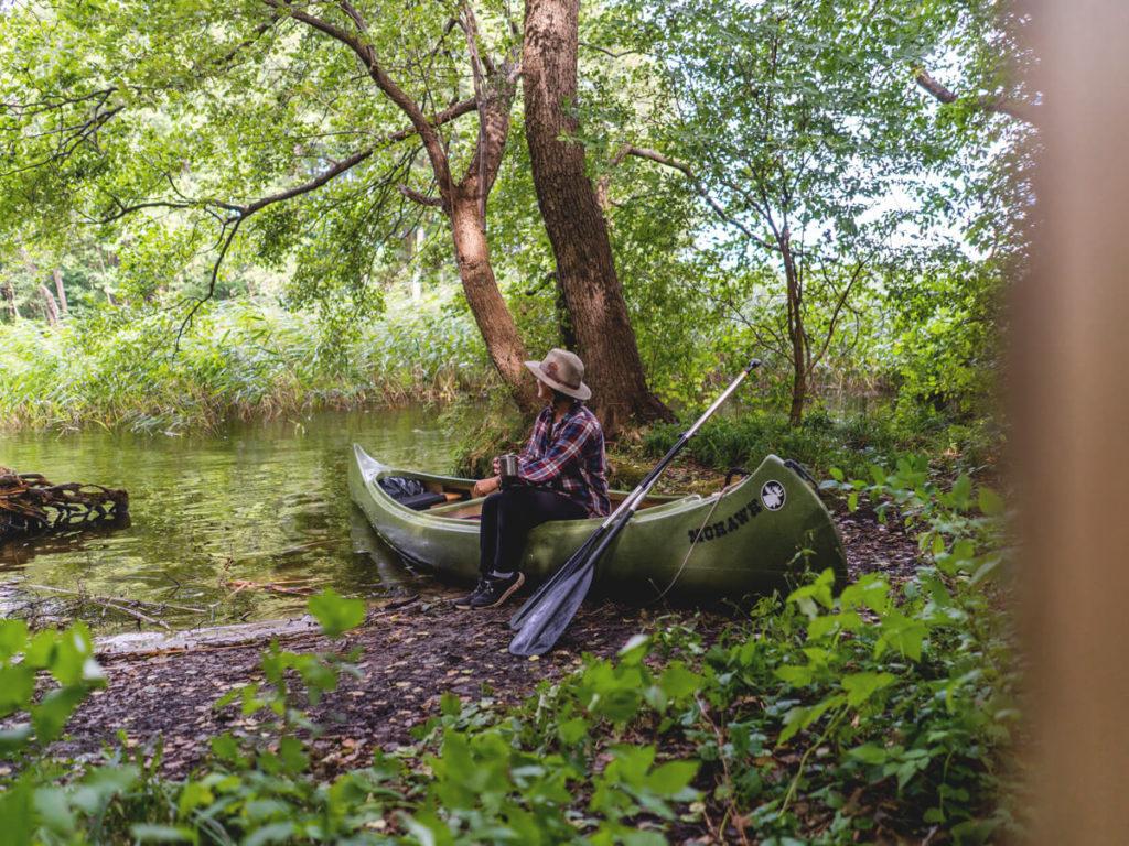 Wasserwanderung-Mecklenburg-Vorpommern-Havel-Pause